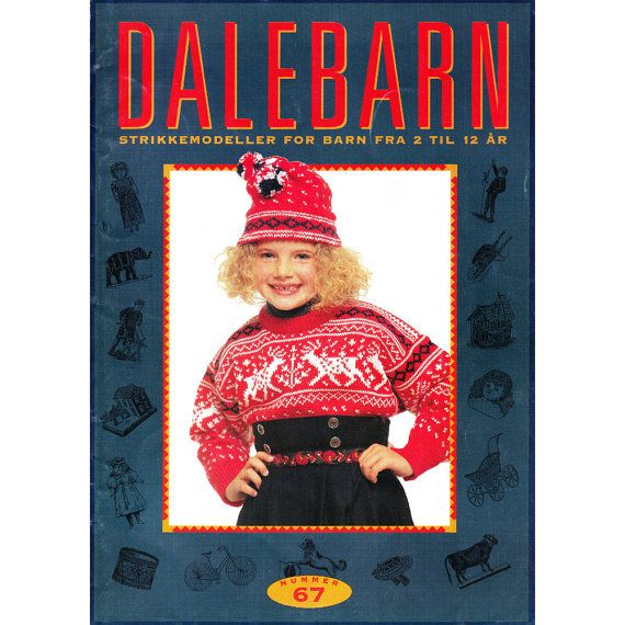 Dale of Norway Dalebarn 67 Knitting Pattern by CorrinneExpressions, $19.95