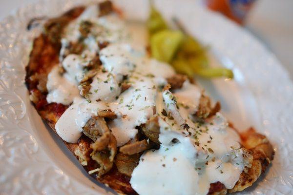 LCHF Kebabpizza | Matplatsen