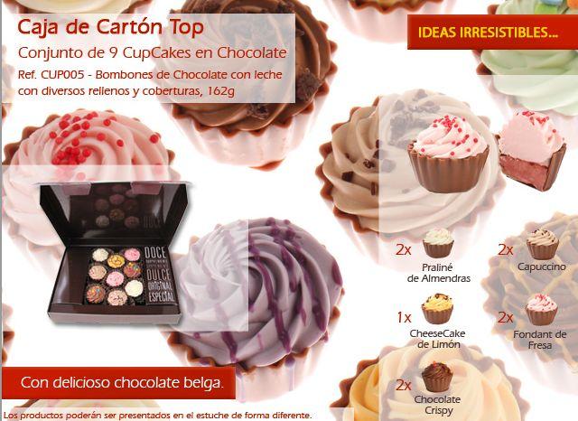 ¡Los más deliciosos cupcakes de chocolate están en sweets4u! ¡Pruébalo ahora!
