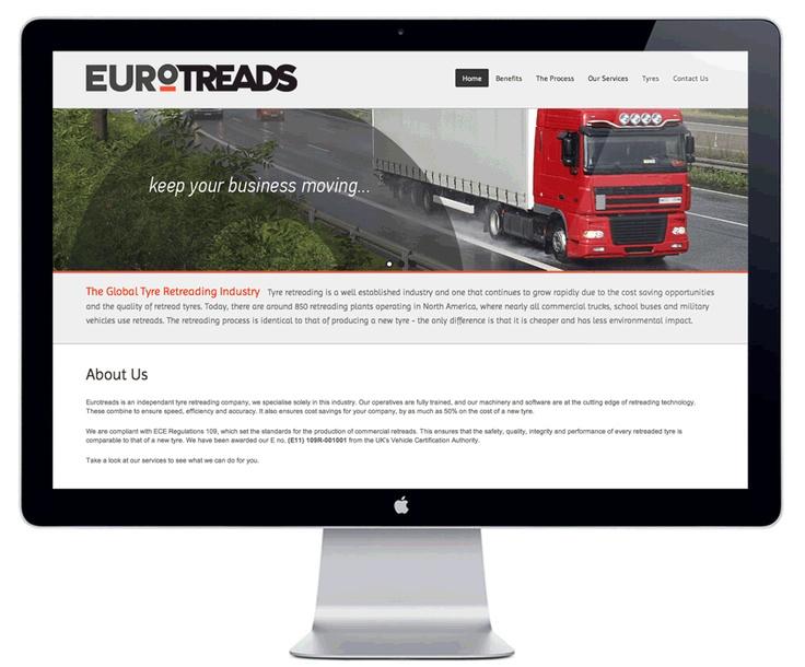 Eurotreads Ltd. - Corporate Identity  Website (http://www.eurotreads.ie)