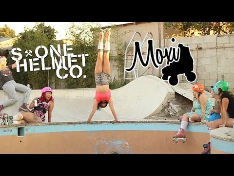 Why haven't I been doing this my whole life? S1 Helmet Co X Moxi Roller Skates Video 2014 - YouTube