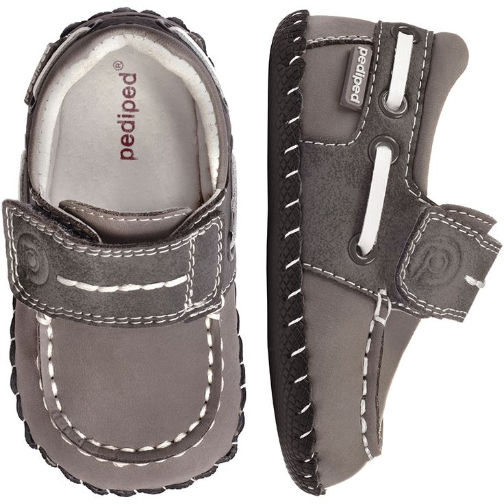 pediped Originals Norm Grey | pediped footwear | comfortable shoes for kids | infant baby toddler youth shoes