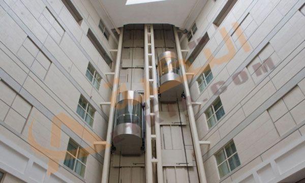 تفسير حلم المصعد أو الأسانسير في المنام وهو عبارة عن وسيلة نقل حيث يتم نقل الناس وكذلك البضائع بداخلها بشكل عمودي من ا Structures Multi Story Building Building