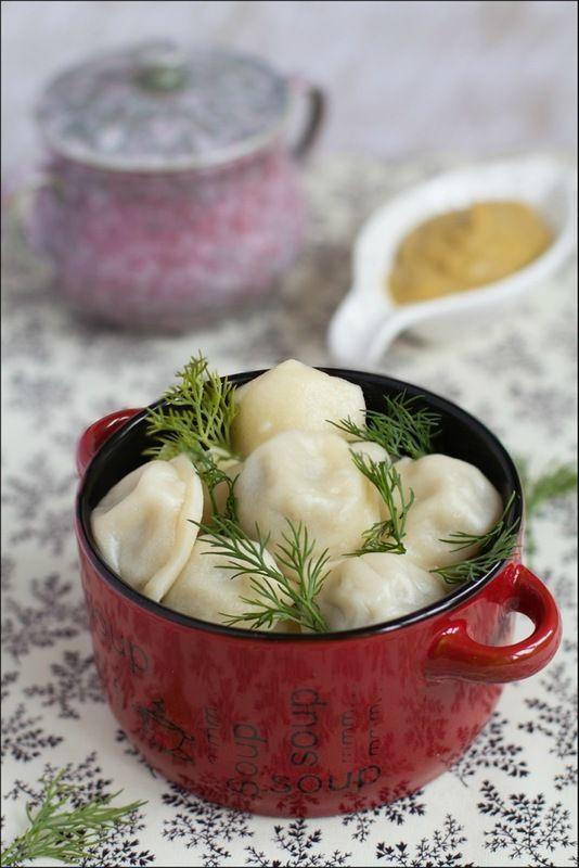Pelmeni (Dumplings) - recipe in Russian