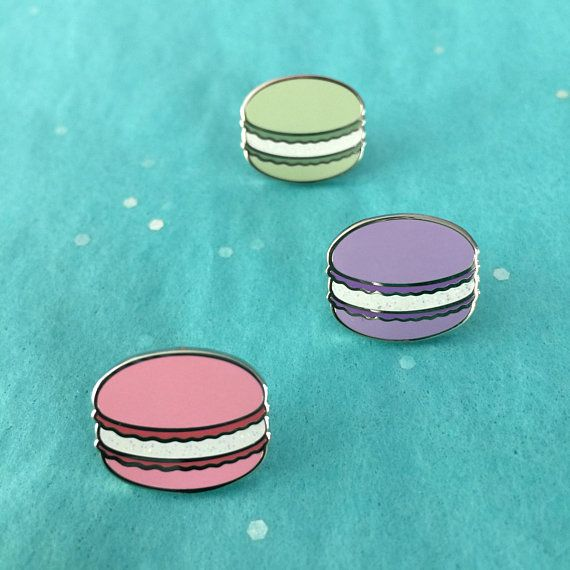Cute Macarons Enamel Pin
