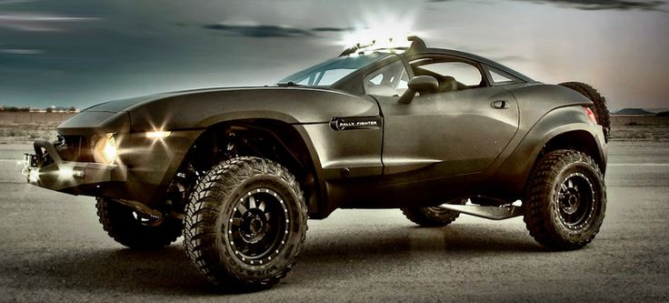 Rally Fighter - will be in the latest Transformers movie, maybe I'll see one off road since I won't see it on the big screen