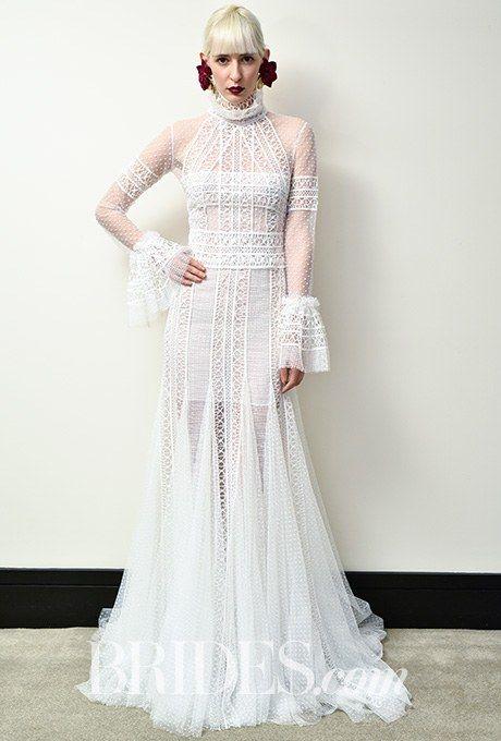 Christos Costarellos Wedding Dresses - Spring 2017 - Bridal Fashion Week   Brides