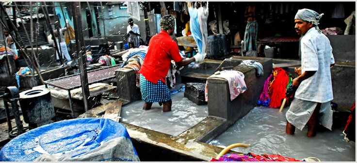 Explore Dhobi Ghat, the largest open air laundromat in the world. Then ride the trains with the dabbawalas, the people who transport hot meals from homes to offices everyday
