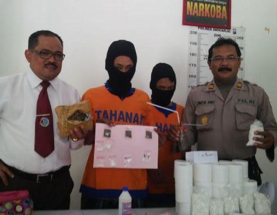 Polres Sidoarjo Meringkus Bandar Narkoba Bagi Kalangan Pelajar