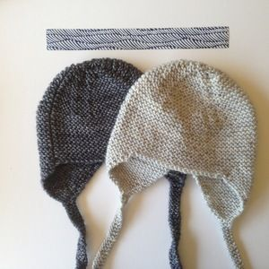 simple knit hat
