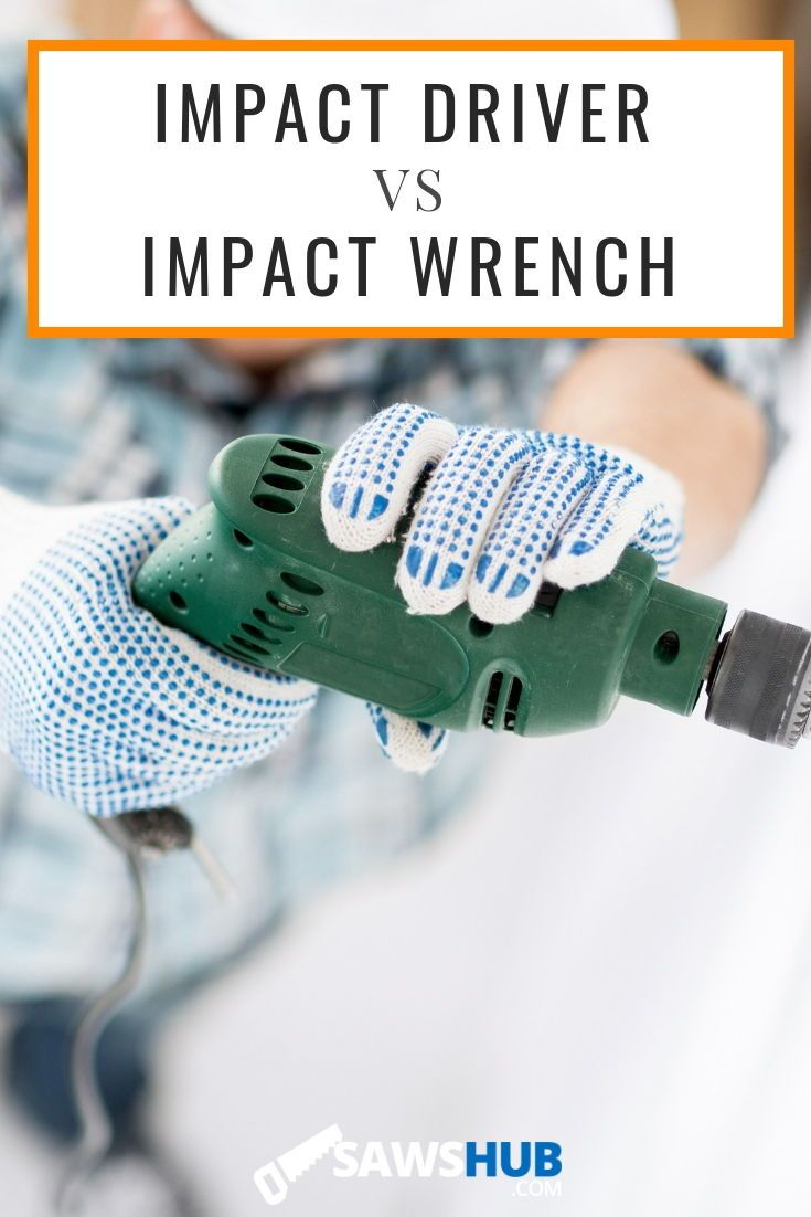 Impact Driver Vs Impact Wrench Diy Pallet Projects Pallet