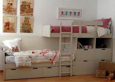 decoracion de interiores dormitorios dobles niños - Buscar con Google