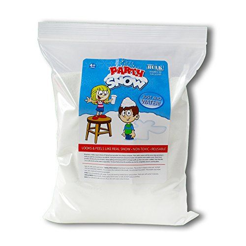 Instant Fake Snow  Mix Makes 10 Gallons of Artificial Snow By Party Snow >>> This is an Amazon Affiliate link. Find out more about the great product at the image link.