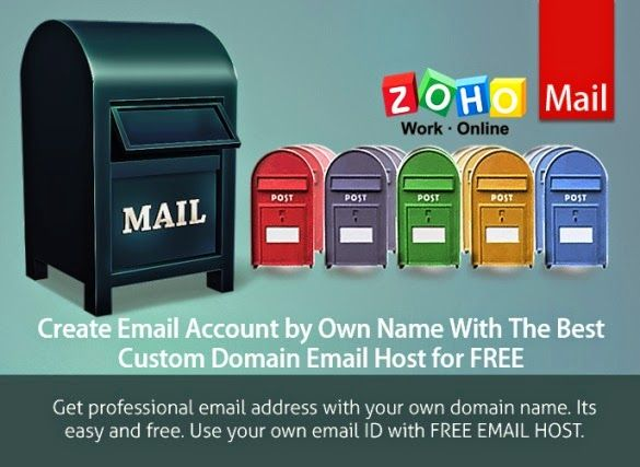 Get professional email address with your own domain name. Its easy to setup and totally free to use. Create your own email ID with FREE EMAIL HOST.  Link: http://www.problogbooster.com/2014/05/create-email-account-by-own-name-with-best-custom-domain-email-host-for-free.html