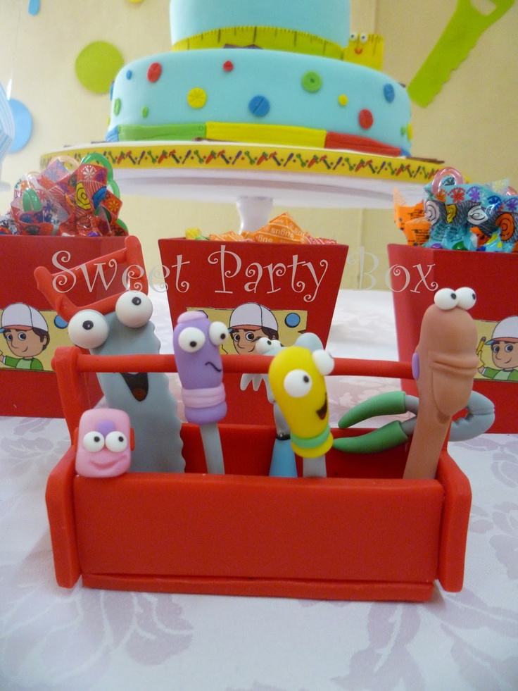 34 best ideas about handy manny party on pinterest for Handy manny decorations