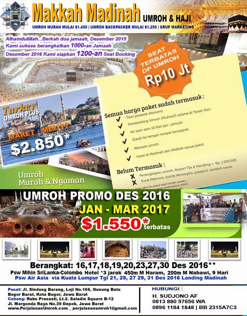 Kemitraan Usaha Buka Agen Marketing Umroh & Haji | Biro Perjalanan Umroh - Makkah Madinah Support by Risalah Madina Travel
