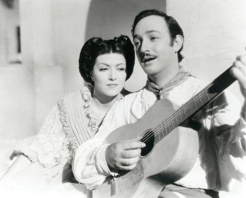 Gloria Marin with Jorge Negrete.