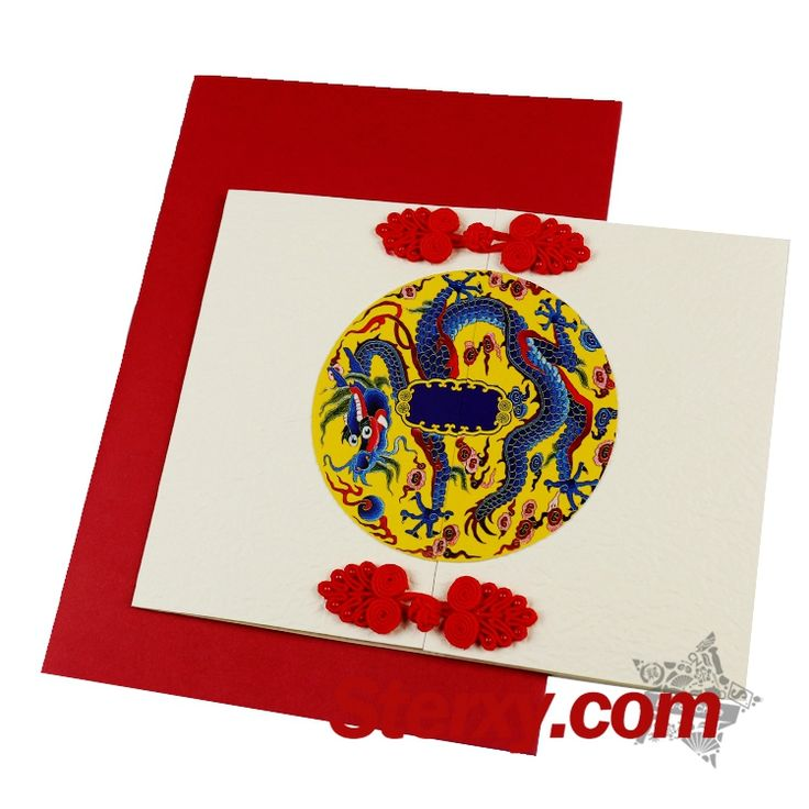 This #greetingcard is beautifully designed with the pattern of the Chinese dragon. Dragon in China is the symbol of stauts and wealth which brings the best wishes of good fortune in the #Chinesenewyear! As a new year gift, this card will make you feel the beauty of classical Chinese art.Write down your new year wishes! #dragon #newyearcard #frogbuttom