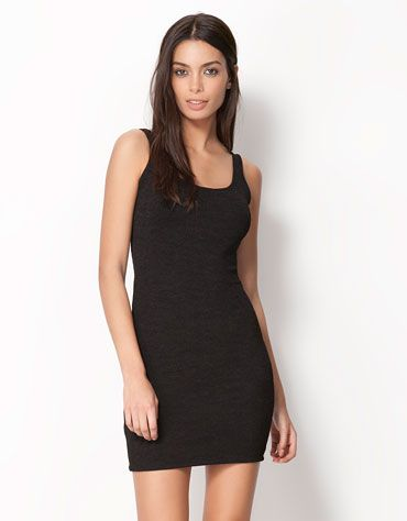 Bershka Ελλάδα - Φόρεμα Bershka εφαρμοστό