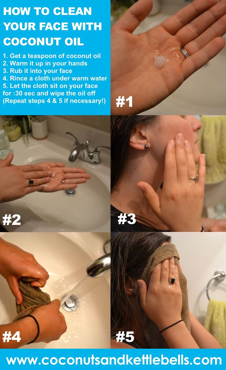 Step-by-Step Guide for Cleaning Your Face with Coconut Oil!