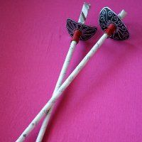 Scurvy Pirate Swords from rolled newspaper, featured in 27 Rainy Day Crafts and Cool Games for Kids