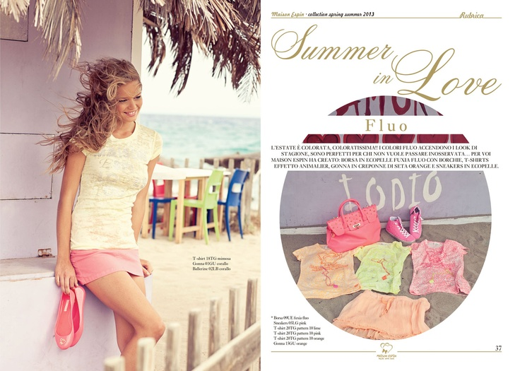 summer in love#maisonespin #springsummercollection13 #womancollection  #lovely #MadewithLove #romanticstyle #milano#clothing #shopping #iloveshopping