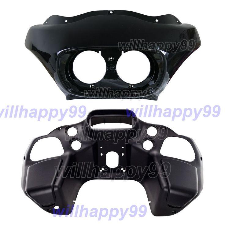 oem road glide fairing  Black Painted Injection Vivid Outer & Matt Inner Fairing for Harley Road Glide
