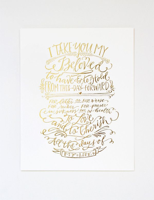 Best images about wedding vow calligraphy on pinterest