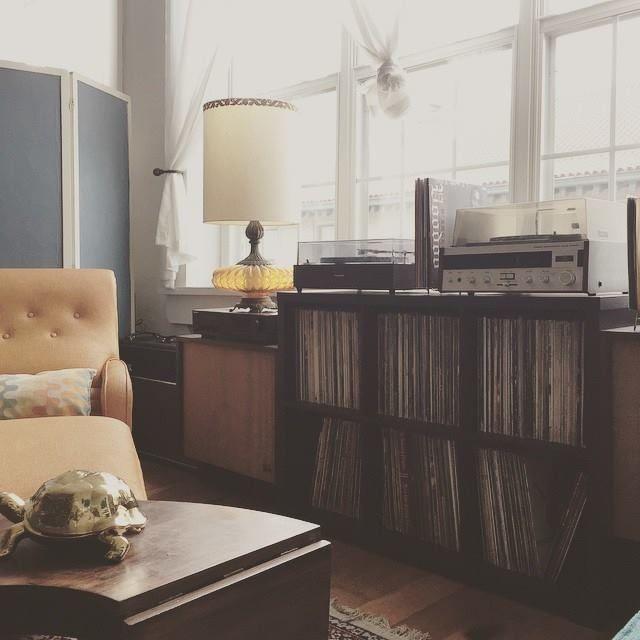 Vinyl Storage, Lp Storage, Record Storage, Book Storage, Storage Ideas,  Crosley Record Player, Record Player Stand, Record Players, Record  Collection