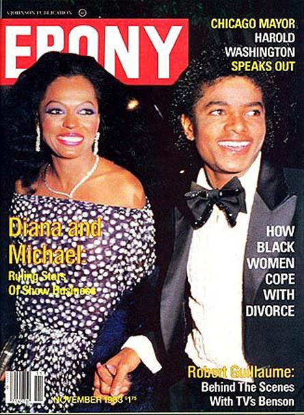 Ebony magazine — November 1983 — Diana Ross & Michael Jackson