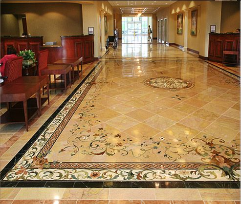 Beautifying and integrating diverse interior spaces - Creative Edge Mastershop Waterjet Cutting