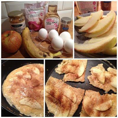 Coltingpannkaka äpple, kanel och kokos - recept| Fitness & Hälsa
