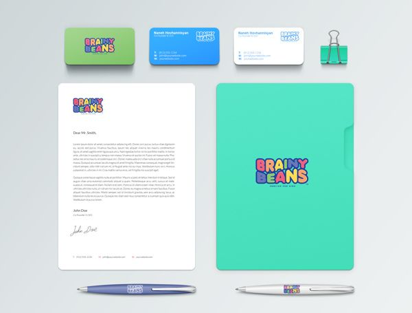 Brainy Beans | English for Kids by Harouth Arthur Mekhjian, via Behance