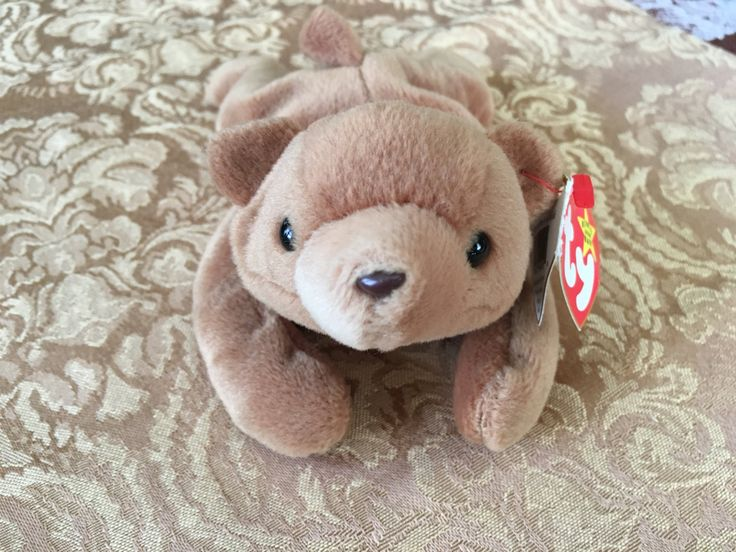 Beanie Baby, Ty Beanie Baby, Cubbie the Brown Bear, Bear Plush, Brown Bear Beanie Baby, Ty Bears, Ty Babies, Ty Brown Bears, Brown Bears