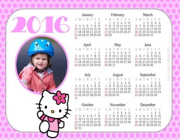 18 Best Hello Kitty Calendars Images On Pinterest Love It Photo