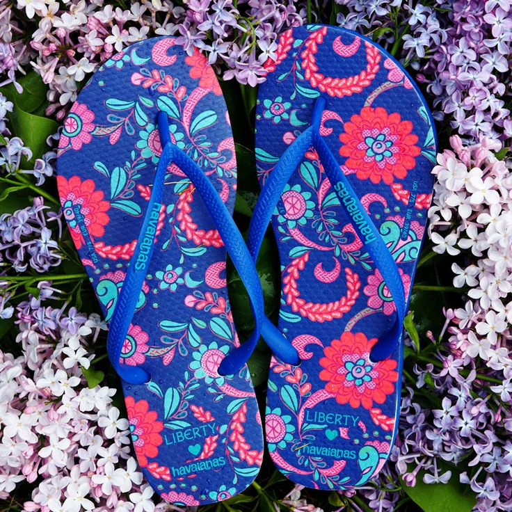 Take Me to the Spa: Havaianas mit Liberty Print