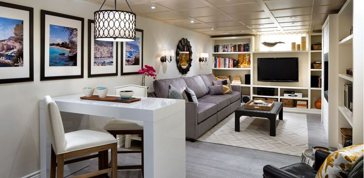 Get a Cozy TV Room Designed by Candice Olson