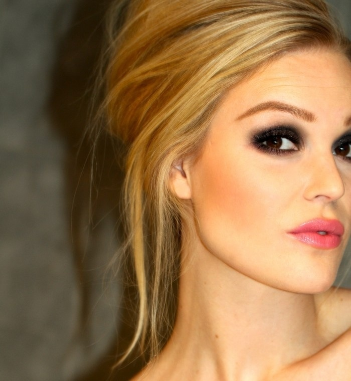 Aesthetics Indian Makeup Beauty Blog Fashion Smokey Eye Makeup