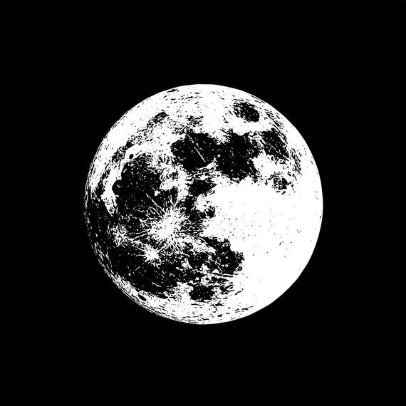 34+ New moon clipart black and white ideas in 2021