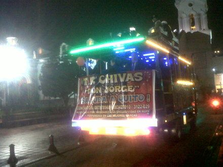 Quito, Ecuador - Chivas - Party Bus