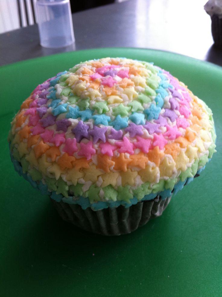 Rainbow star sprinkles