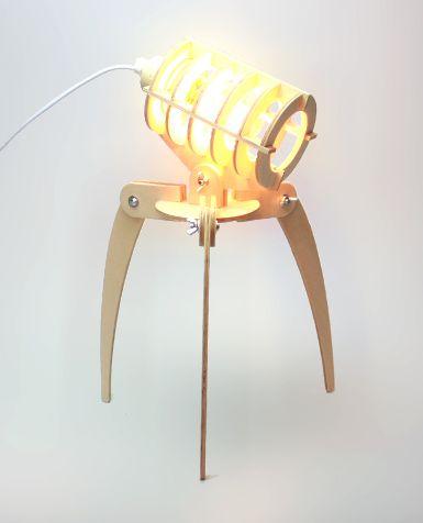 Diy Wood Lamp All Things Wood Pinterest Diy Wood