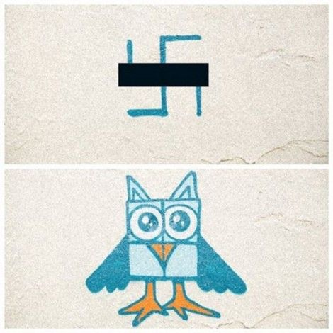 A Berlino la street art anti-nazi: il movimento Paint Back