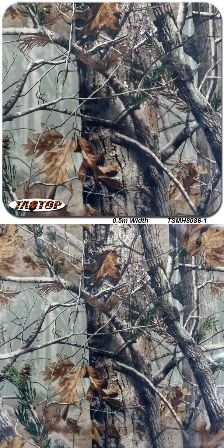 [Visit to Buy] TSMH8086-1 0.5M * 2M Tree leaves Camo camouflage Hydro Dipping Hydrographics Film Water Transfer Printing Films #Advertisement
