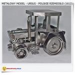 Metalowy model URSUS Polskie rękodzieło Metaloplastyka handmade