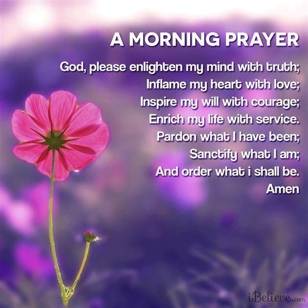 Beautiful Morning Prayer religious quotes morning good ...