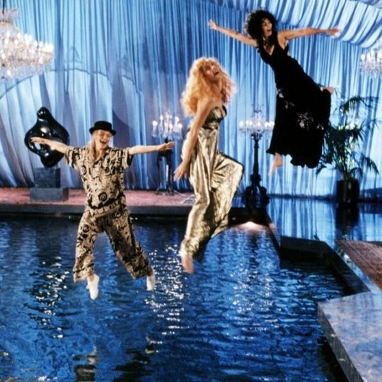 The Witches of Eastwick <3 This movie gave me so many aspirations as a young girl. Fashion, Mystic Girl-Power, Big Hair, Boss Chick Shit.