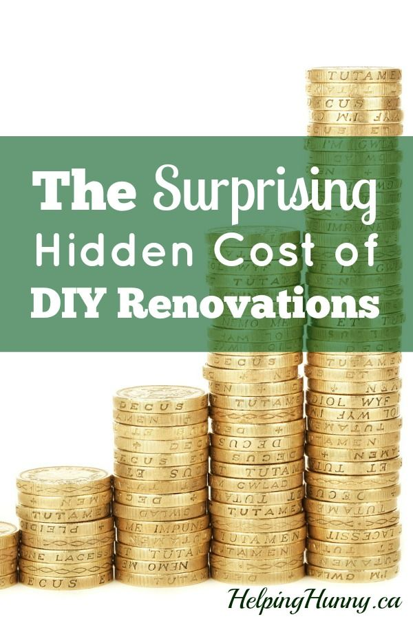 Discover 3 ways that the cost of DIY renovations can be more than you think