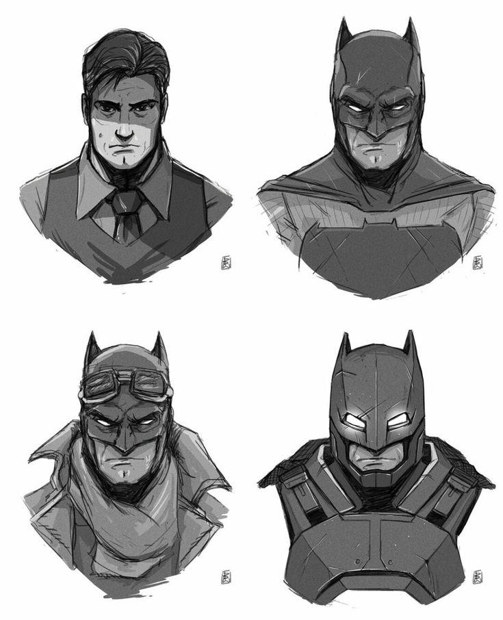 [Fan-Art] Batfleck fan-art by Ben-Wilsonham : comicbooks