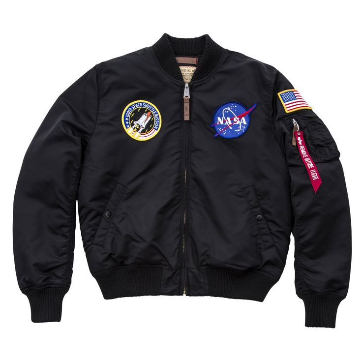 ALPHA INDUSTRIES MA-1 VF NASA | lalalandstore.com